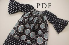 Brooke Peasant Dress or Shirt - for Girls and Dolls | Featured Products | YouCanMakeThis.com
