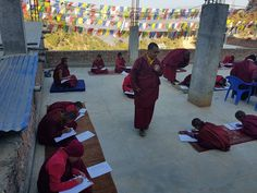 Support a Maratika monk The Monks, Education, Life, Onderwijs, Learning