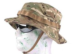 06a6ebd2f9f Military Tactical Boonie Hat Army Combat Style Hard Wearing Camouflage  Fabric - Choose from 15 Colors