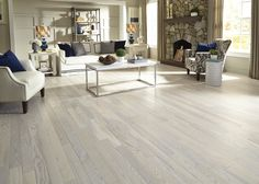 Bring clean design to your home with the soft, airy hues of floors with light stains & whitewashed options. | 2015 Fall Flooring Trends