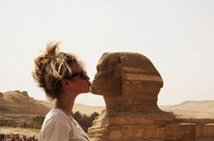 ... I want to ride a camel and kiss the Sphinx just like my girl Beyonce