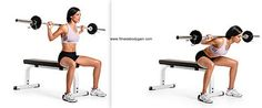 Seated-barbell-good-mornings | http://bit.ly/YntdZC