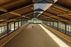 A covered riding arena is anything but plain. Check out these eight riding arenas to help inspire your next dream barn facility.