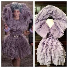 Effie Trinket Catching Fire Costume by Deconstructress on Etsy, $1250.00