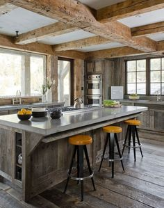 27 Vintage Kitchen Design With Rustic Styles