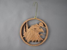Eagle Head by jimswoodstudio on Etsy, $13.95