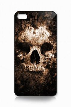 Custom iPhone 4 case, iPhone 5 case, Samsung galaxy case, Samsung Galaxy s3 , Samsung Galaxy s4 case Nightmare Skull at stone
