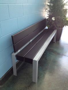 Maglin's bench is purrrfect for the Delta Animal Shelter, in Delta, BC. Ipe Wood, Outdoor Furniture, Outdoor Decor, Animal Shelter, Dining Bench, Home Decor, Animal Shelters, Homemade Home Decor, Table Bench