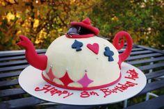 Mad Hatter's Tea Pot Cake