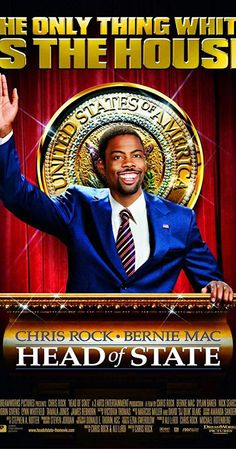 Head Of State (Fullscreen) on DVD from DreamWorks Home Ent. Directed by Chris Rock. Staring Bernie Mac, Chris Rock, Robin Givens and Nick Searcy. More Comedy, Movies and Politics DVDs available @ DVD Empire. Bernie Mac, Comedy Movies, Hd Movies, Movies Online, Movies And Tv Shows, Funny Movies, Funniest Movies, Chris Rock Movies, Chris Rock Show