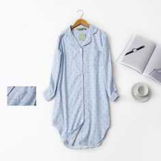 Sattaj Autumn 100% Brushed Cotton For Women Sleepwear