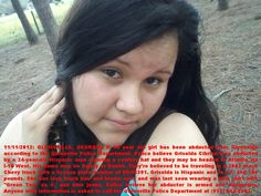 ATTN: #GEORGIA.  #KIDNAPPED #MINOR.  #MISSING. Posted 11/11/12.  Click on link for more details.