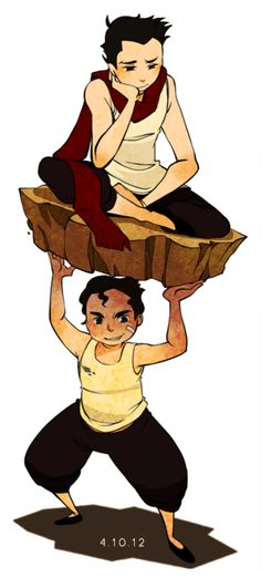 The Legend of Korra, Mako and Bolin