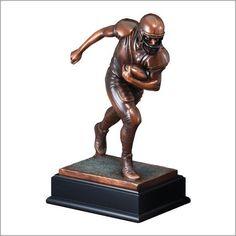 Football Runner Resin Trophy