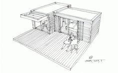Casa Modular de Madeira - one  modular homes - Wooden Modular House