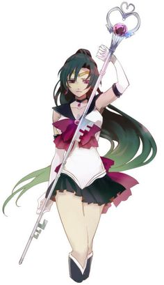 Sailor Pluto. Is she still a part of the group? Have scientific advances forever disrupted the Sailor Moon Universe???
