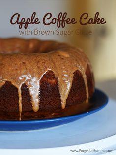 Apple Coffee Cake wi