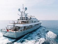 Lord Alan Sugar lists his yacht for sale - Yacht Harbour Lord Alan Sugar, Marine Engineering, Electronics Companies, Yacht For Sale, Super Yachts, Luxury Yachts, Catamaran, Sailing, Motor Yachts