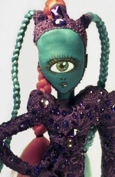 Evelyne Politanoff: Andrew Yang's Couture Dolls