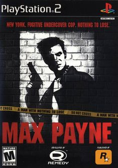 Max Payne Game for the Sony Playstation 2 Buy Now from Fully Retro! Playstation 2, Dc Comics Games, Comic Games, Mafia, Aix En Provence, Juegos Ps2, 3d Realms, Max Payne, Challenge