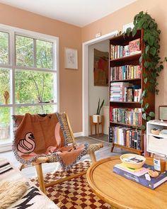 Bookshelves, Bookcase, Dining Room, Decor Ideas, Live, Interior, Instagram, Design, Home Decor