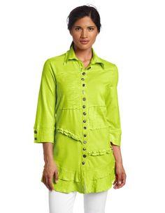 Neon Buddha Women's In My Life Shirt, Urban Green, Large