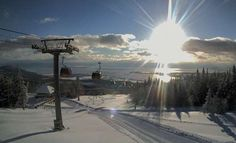 Mont Sainte Anne, Quebec, Canada | Most new snow January 2, 2014
