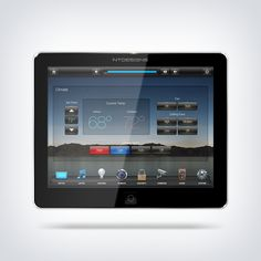 """NTDesigns """"Esoteric"""" smarthome user-interface. Compatible with Crestron Smart Graphics home automation touchpanels such as their TSW panels, iPad App, TPMC panels and more!"""