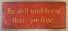 Believe!  My dependable verse.