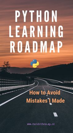Python Learning Roadmap: How to Avoid Mistakes I Made Learning programming has always proven to be taxing especially for first time Python learners. It's like a journey, you need a roadmap to guide Computer Programming Languages, Coding Languages, Learn Programming, Python Programming, Data Science, Computer Science, Environmental Science, Life Science, Claves Wifi