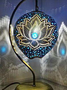 Su Kabağı Dekoratif Aydınlatma Gourd Lamp Shade Lighting Turkish Lamp Gift ideas Handmade Decor