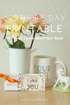 Free Printable Mother's Day Cards - The perfect homemade Mother's Day gift from kids.