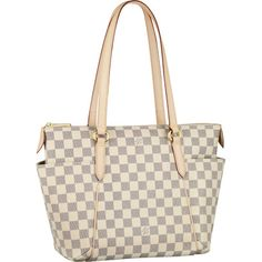 Louis Vuitton N51261 Damier Azur Canvas Totally PM Azul