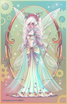 The Good Fairy by NoFlutter.deviantart.com on @DeviantArt
