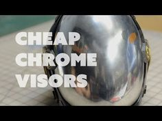 Prop: Shop - Chrome Helmet Visors and Patterns with Evil Ted - YouTube