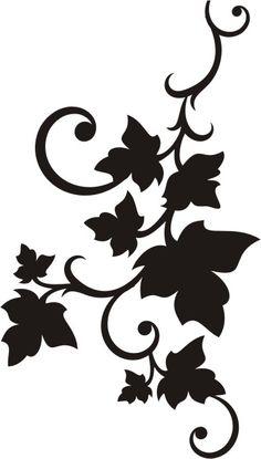 Billedresultat for papercut template akantus Stencil Patterns, Stencil Designs, Paint Designs, Embroidery Patterns, Hand Embroidery, Bird Stencil, Stencil Art, Flower Stencils, Damask Stencil