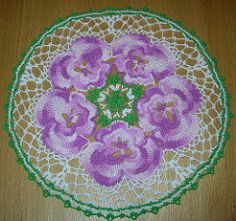 Ravelry: The Pansy Doily pattern by American Thread Company