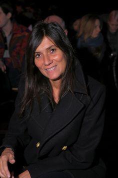 Emmanuelle Alt - DKNY - Front Row - Fall 2011 Mercedes-Benz Fashion Week