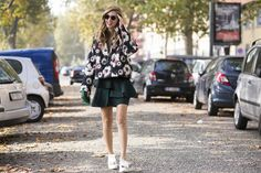 SS15 Floral Street Style / Jason Lloyd-Evans. For more ideas click the picture or visit www.thedebrief.co.uk