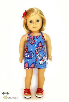 American Girl Doll Clothes Shorts Drawstring by JoDeePetites $13.00