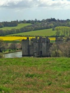 Sussex -  Bodiam Castle, a treasured historical monument in the care of the National Trust….nestled in its quiet valley adjacent to the River Rother, and looking particularly striking surrounded by the rapeseed fields.