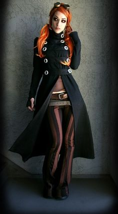 STEAM PUNK FASHION TRENDS | Labels: fashion coats for women , steampunk clothing , steampunk coat ... #steamPUNK ☮k☮