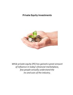 http://www.slideshare.net/MukeshValabhji/mukesh-valabhji-private-equity Learn all about private equity with Mukesh and his informative guides