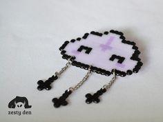 Pastel Hell Cloud Nu Goth Cute Brooch by zestyden on DeviantArt