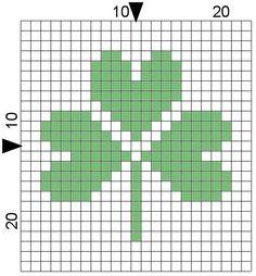 http://www.bestfreecrochet.com/wp-content/uploads/2011/02/FD031-shamrock-chart.jpg