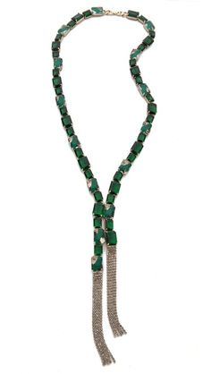 Noir Jewelry Fringe Necklace - gorgeous statement piece....