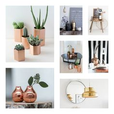 Koper and gold woontrend 2016