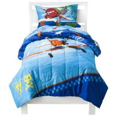 Disney Planes Twin Comforter and Sheet Set - 4 Piece Disney,http://www.amazon.com/dp/B00E5UWJSC/ref=cm_sw_r_pi_dp_UQRCsb0KYE2D9BES