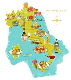 Italy Food Map - Eating Europe