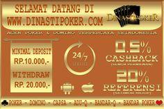 Dinasti poker agen poker & domino terpercaya di indonesia
